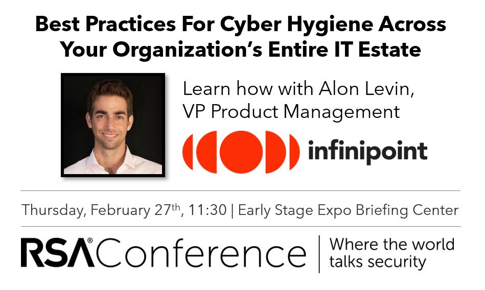 Cyber Hygine IT Estate Infinipoint