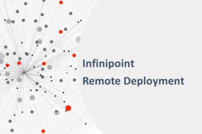Infinipoint remote deployment